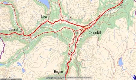 kart oppdal Oppdal kommune kart oppdal